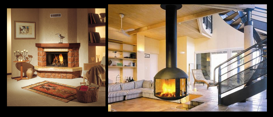 amazing affordable chimeneas de lea with chimeneas decoracion modernas with chimeneas de lea modernas - Chimeneas De Lea Modernas