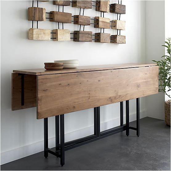 Mesas extensibles la comodidad no ocupa espacio dise o for Mesas plegables salon diseno