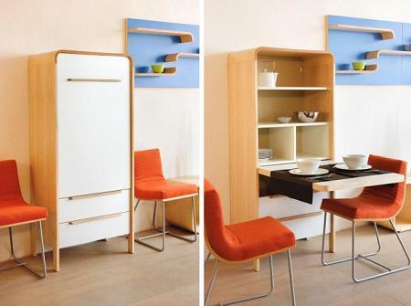 Mesas Extensibles: La comodidad no ocupa espacio - Diseño Interior ...