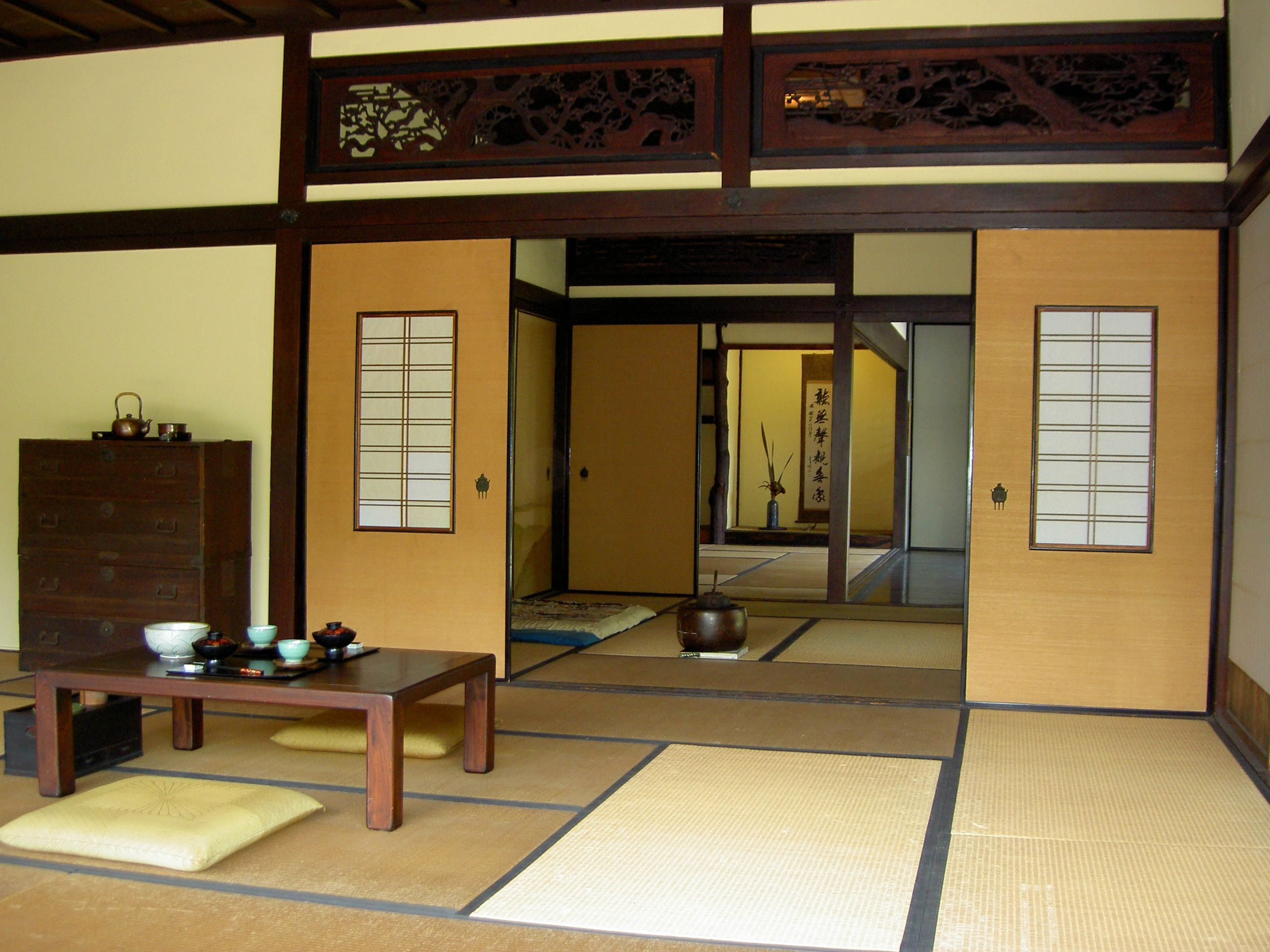 Casas japonesas dise o interior revista for Case giapponesi