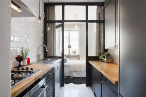 Cocinas pequeñas alargadas: El máximo provecho - Diseño Interior Revista