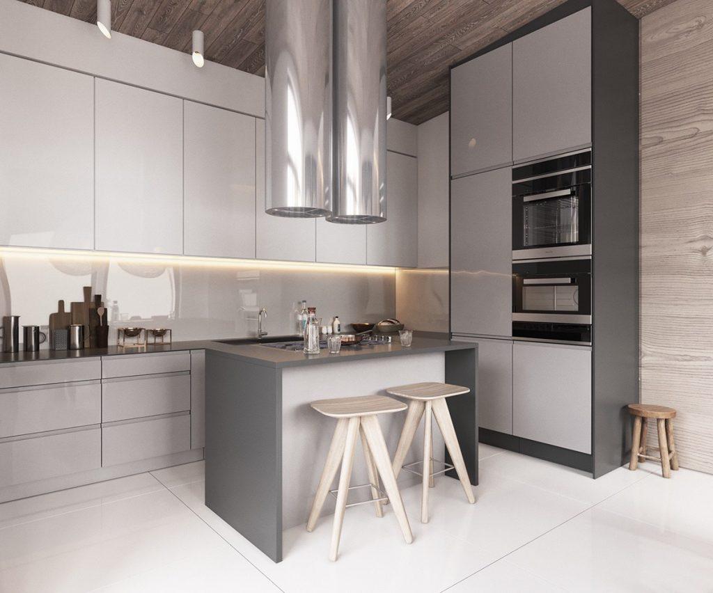 cocina minimalistica