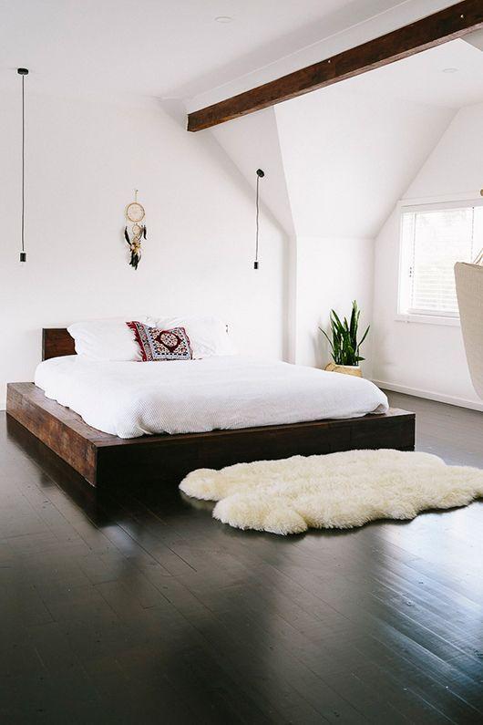 cuarto con bonsai