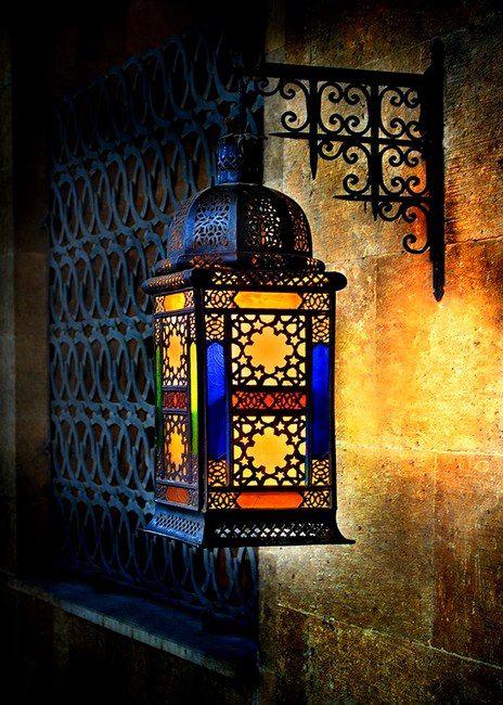 elegantes lamparas arabes