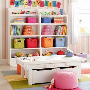 Estantes infantiles dise o interior revista for Mueble guarda juguetes