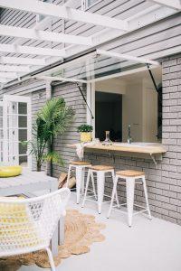 cocinas con jardín
