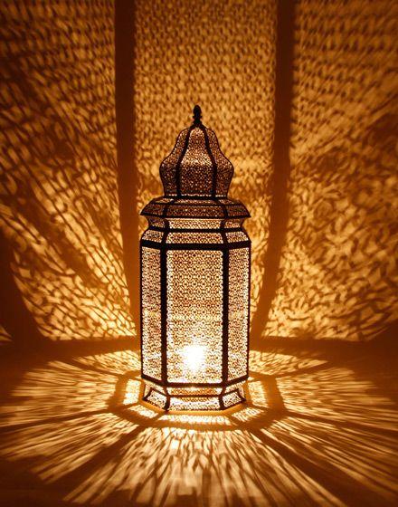 lampara de piso tipo arabe