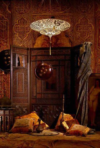 lampara de techo moderna de arabe