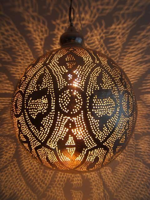 lampara redonde tipo arabe