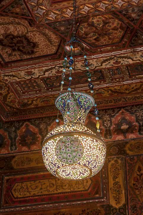 lampara tipo arabe