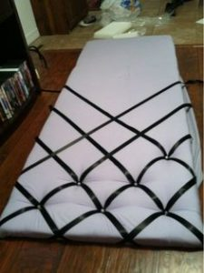 proceso de tapizado con cinta